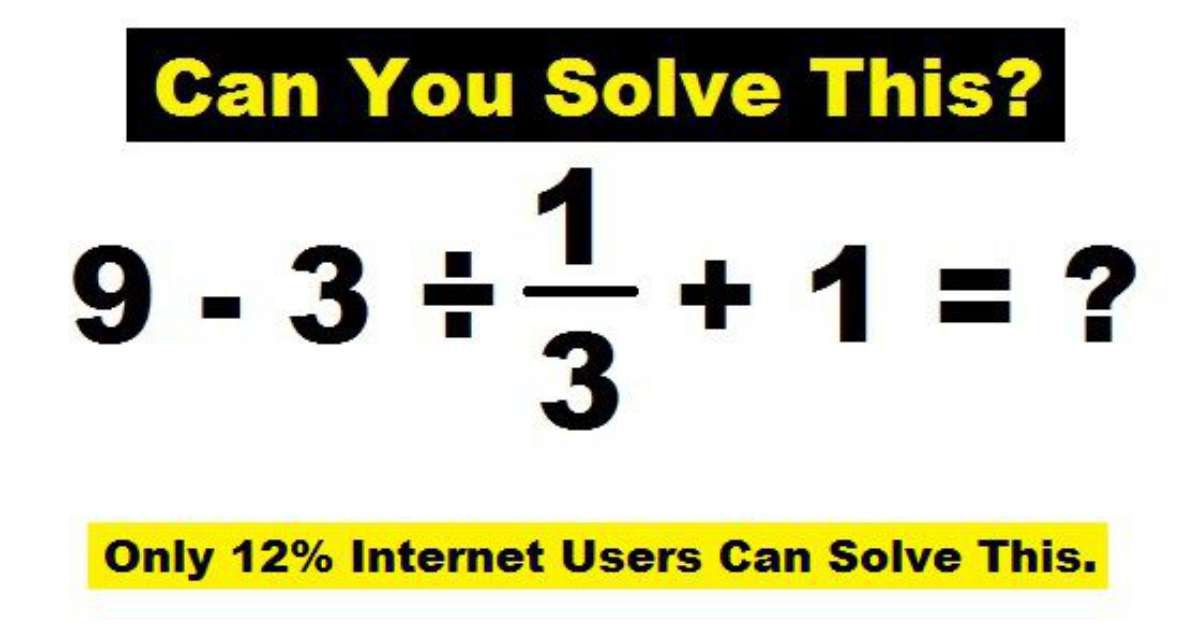 Solve If You Are Genius