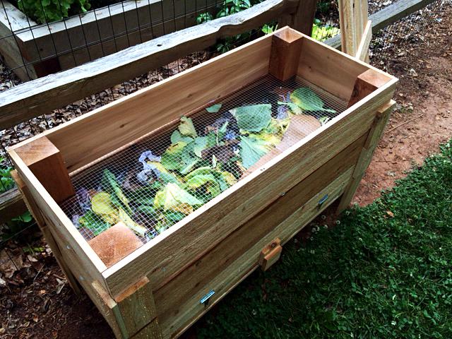 Plastic Liner Vegetable Garden
