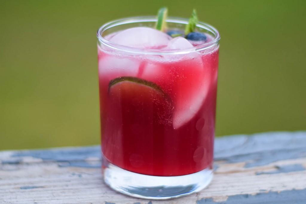 Blueberry Basil Cosmopolitan Grumpy S Honeybunch