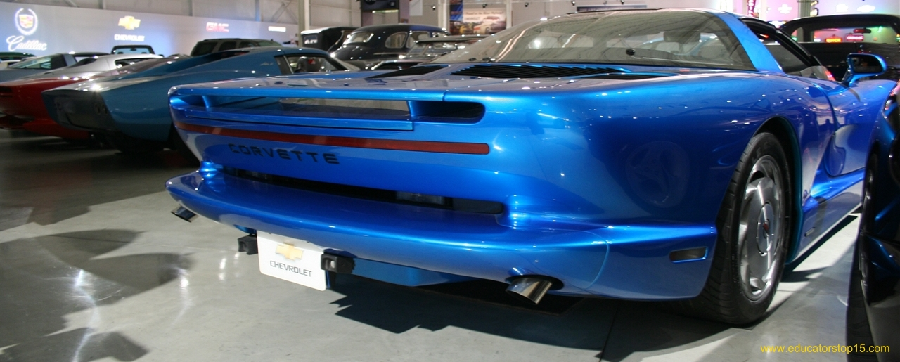 1990 Pontiac Fiero Concept Car Interior