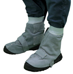 Leather Welders Spats