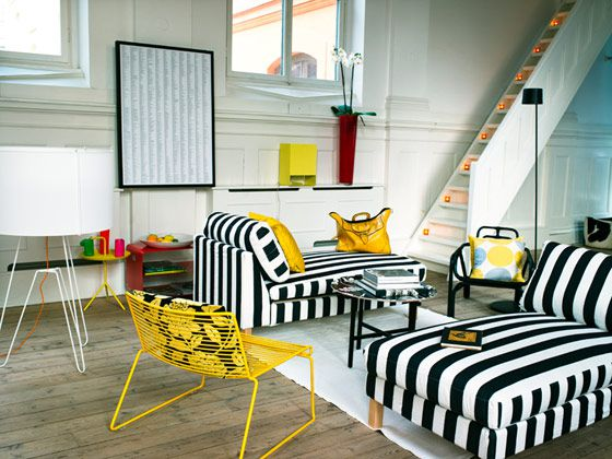 Yellow And White Living Room Ideas