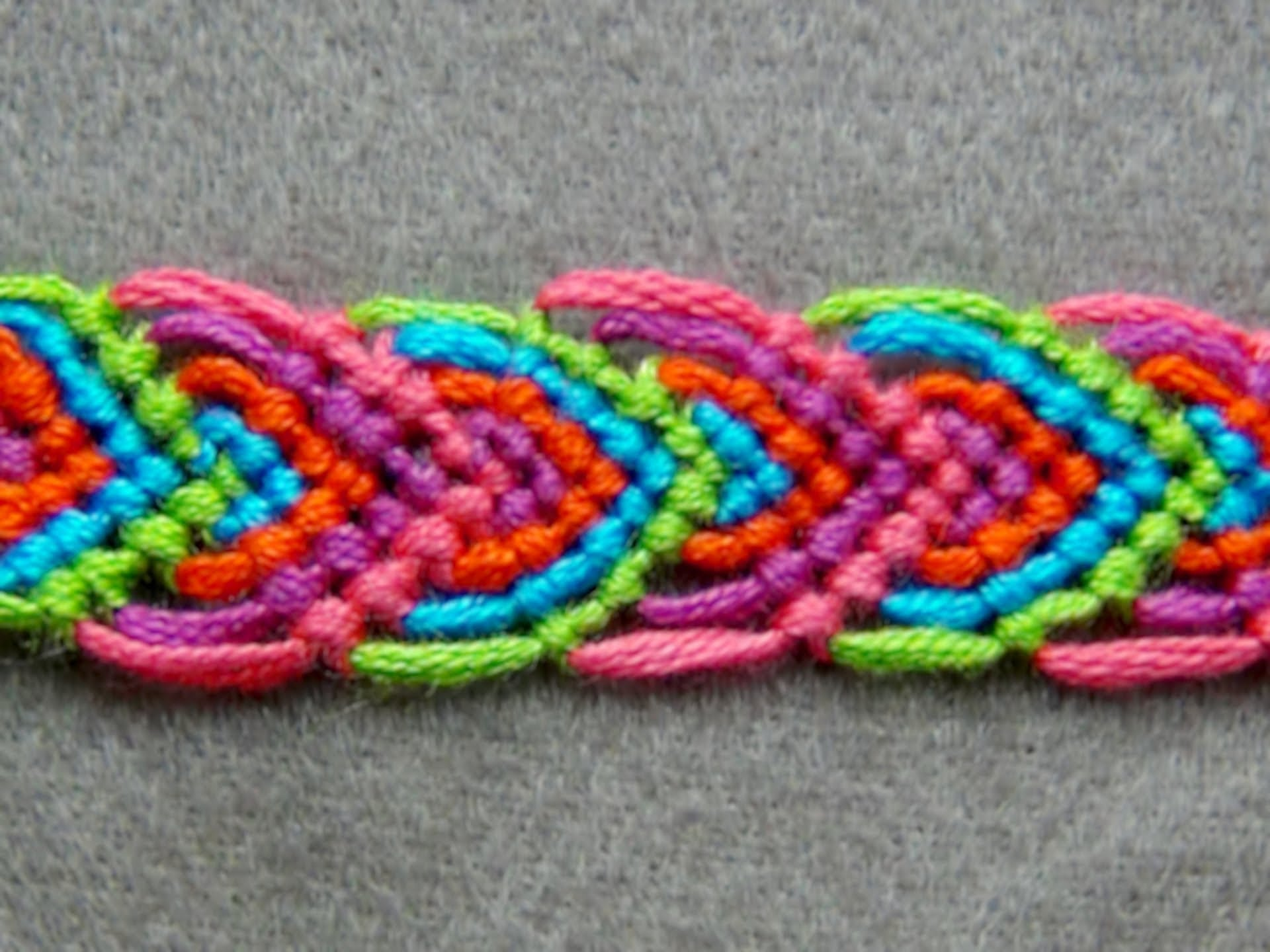 French Knitting With Beads