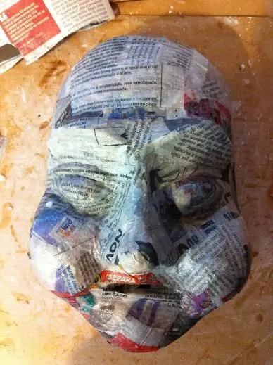 Mache Ideas Balloon Paper Mask