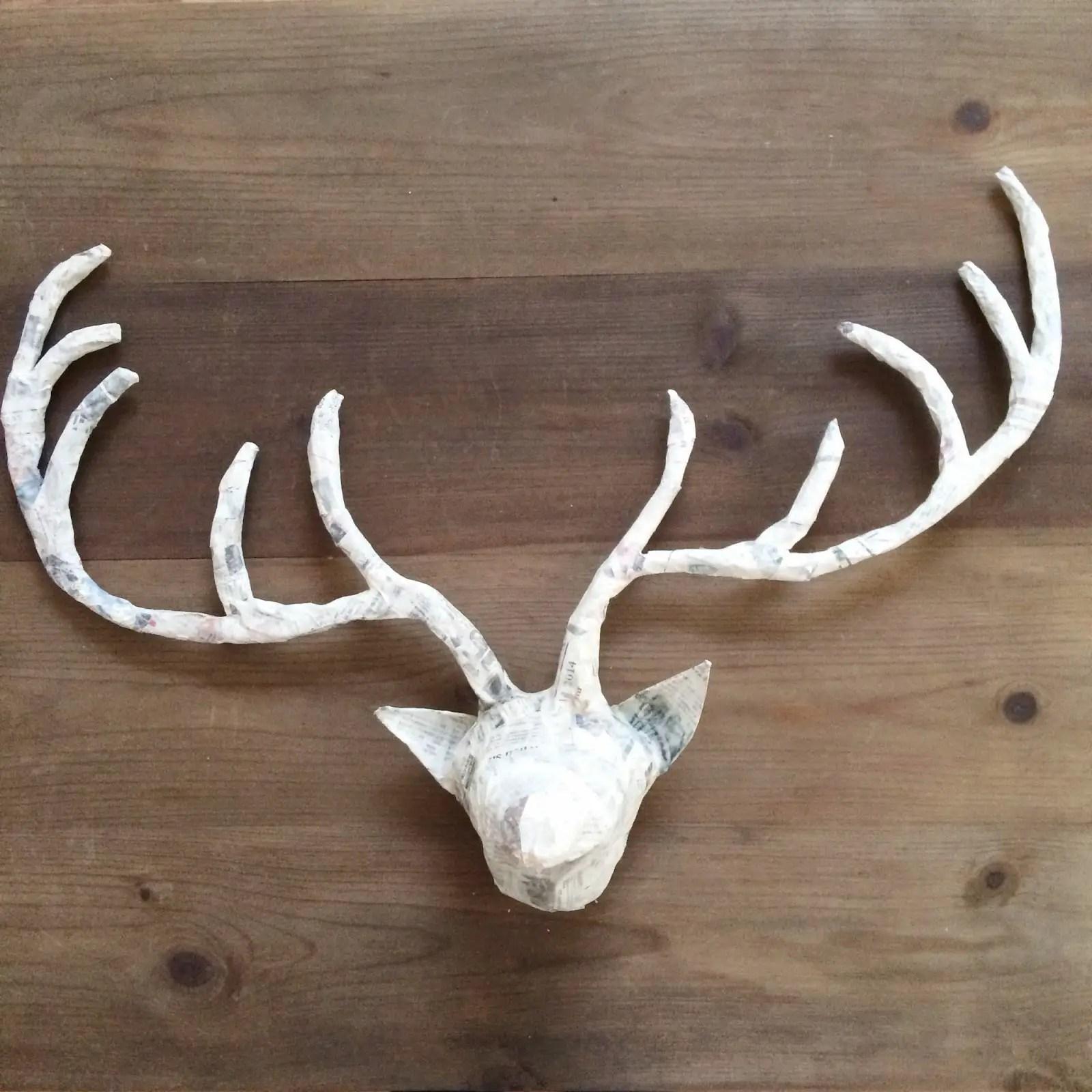 Faux Deer Antlers Crafts