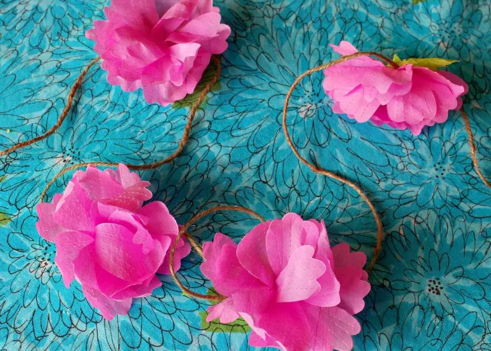 Crepe paper streamer flowers mightylinksfo