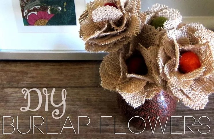 Burlap Flowers 15 Interesting How Tos Guide Patterns