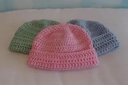 Imgenes De Crochet Baby Hats Patterns Free Easy