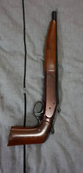 410 Shotgun Sawed Off 410 Single Shot Shotgun With