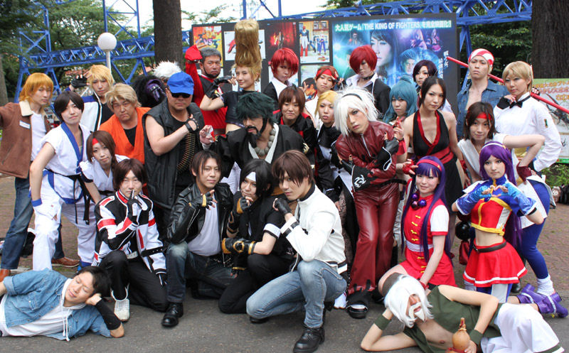 The King Of Fighters Present Cure Cosplay Festival Vol 3