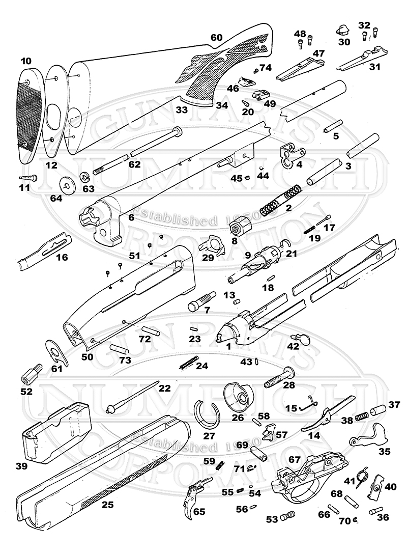 Remington 1100 Trigger Parts Fotos 1187 Diagram Http Www Gun Com Remingtonshotgun