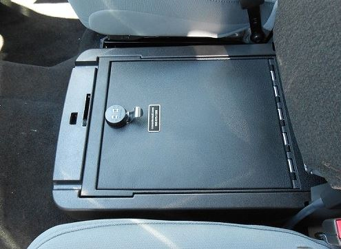 Console Vault Ford F350 Under Front Middle Seat 2011