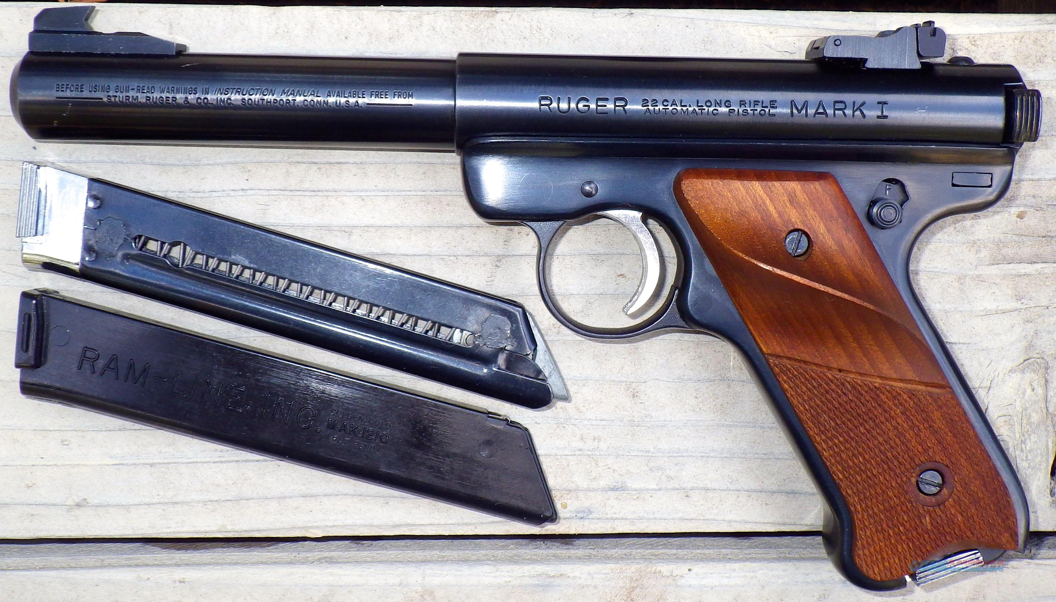 Magazines 22 Long Rifle Automatic Ruger Pistol