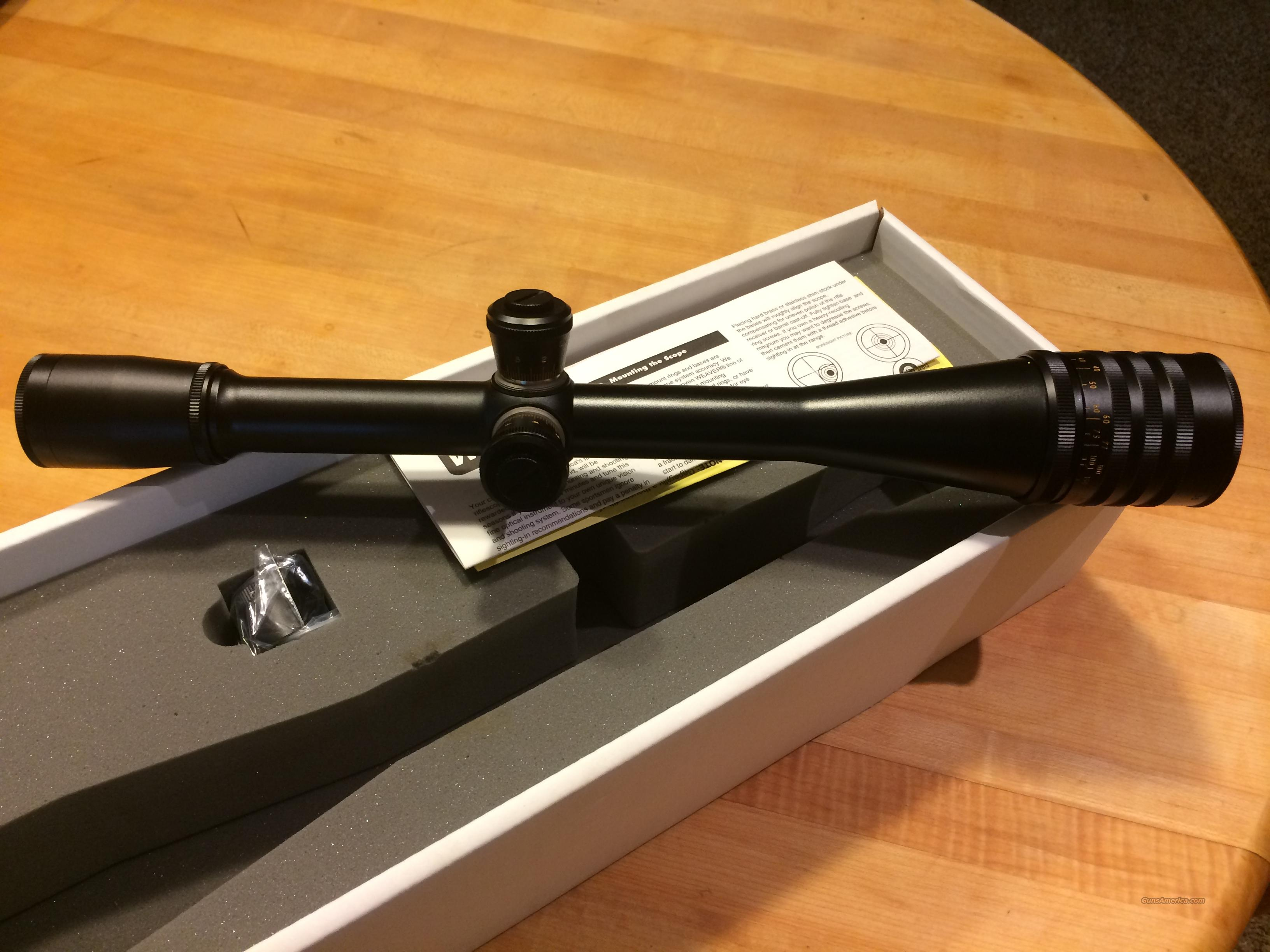 Weaver T Series Rifle Scope 36x 40mm Adjustable For Sale