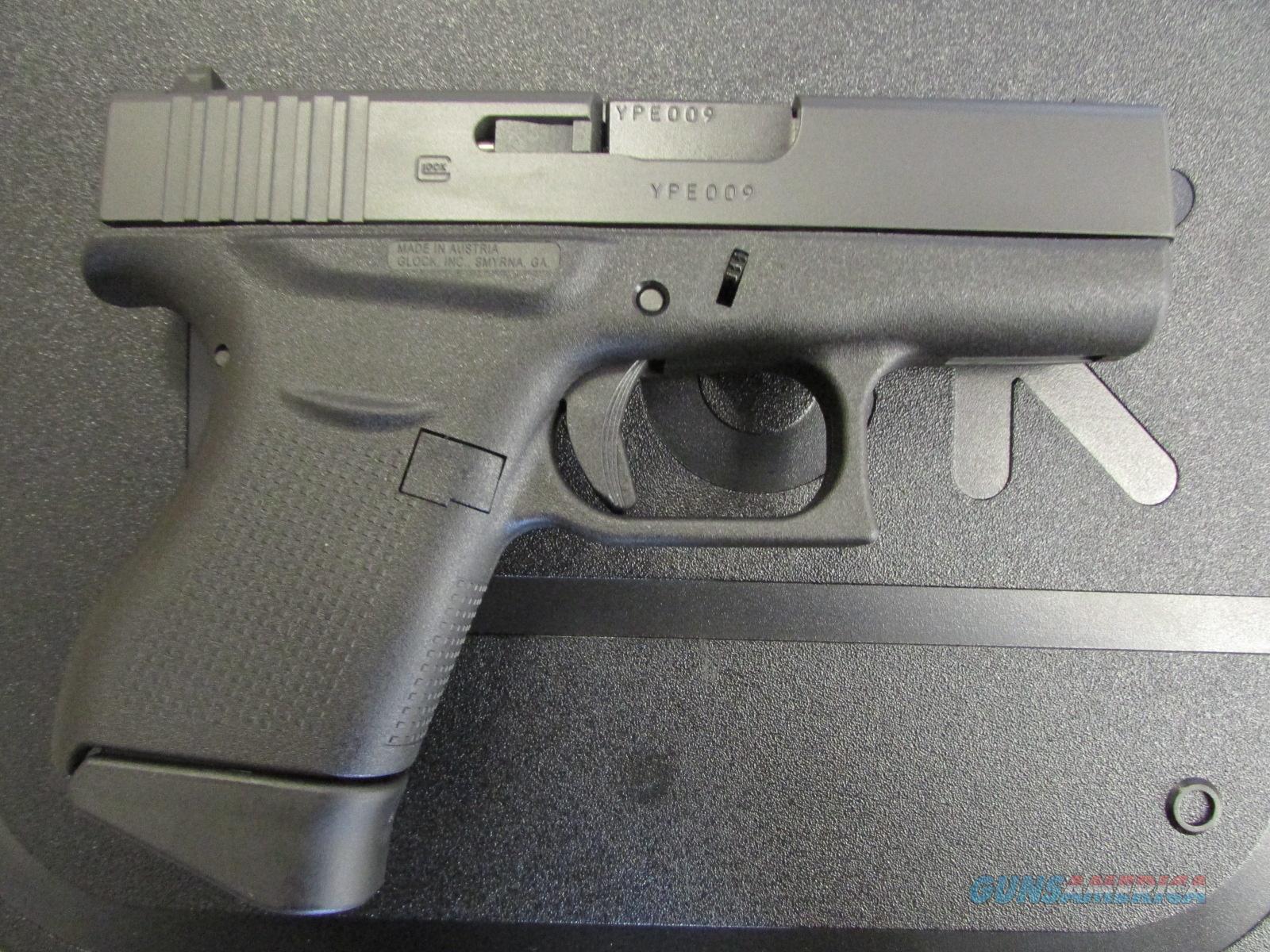 "Glock G43 3.39"" Single Stack Pistol 9mm PI43502... for sale"