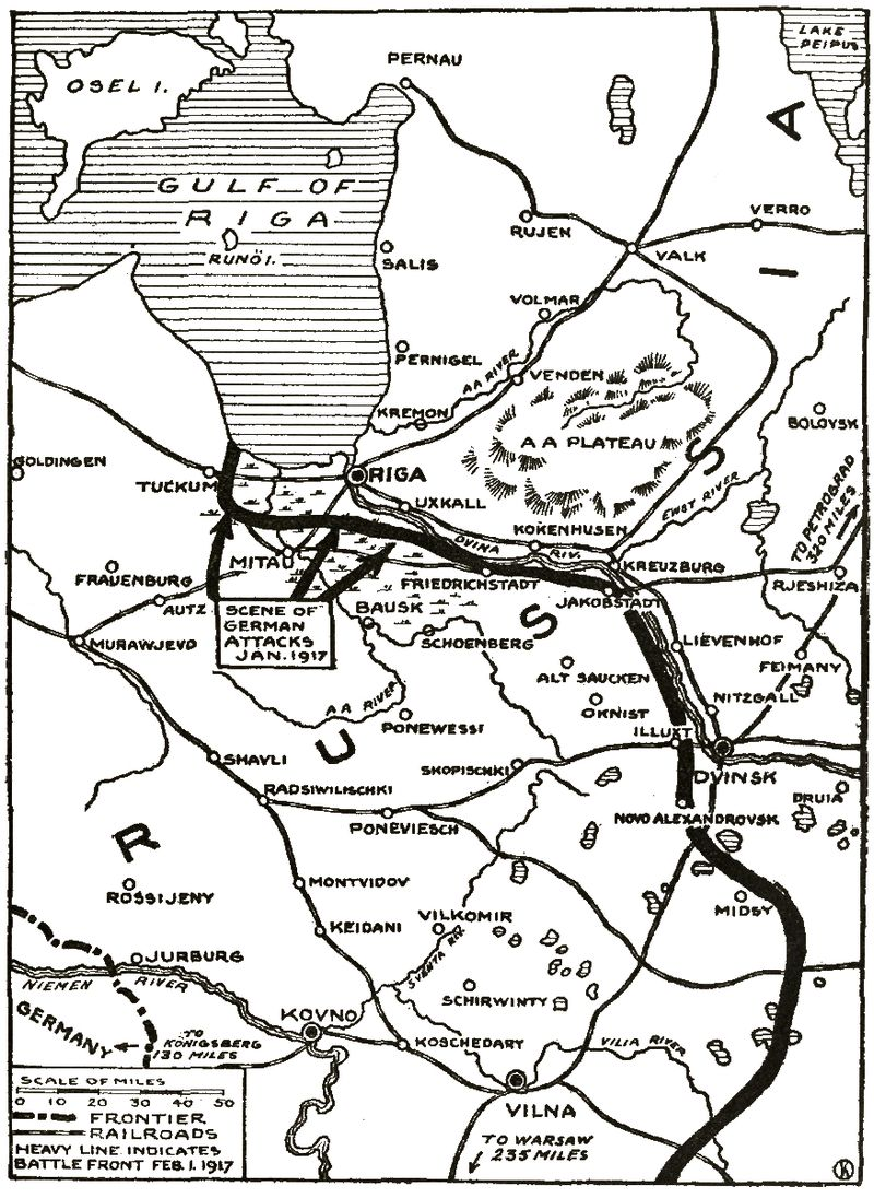 Attack in the riga sector