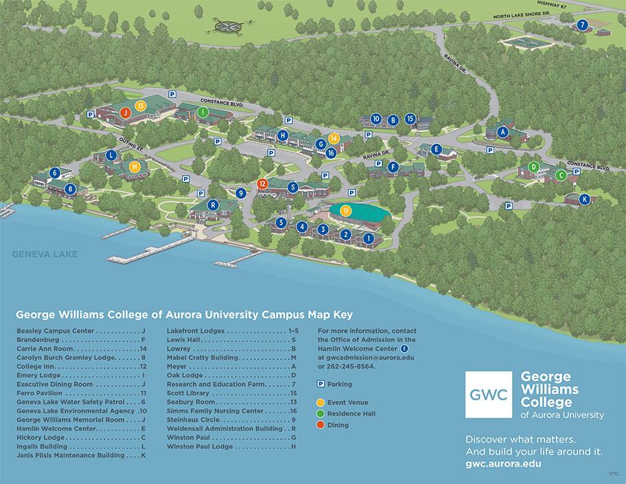 California Baptist University Campus Map.Cal Baptist University Campus Map Printable