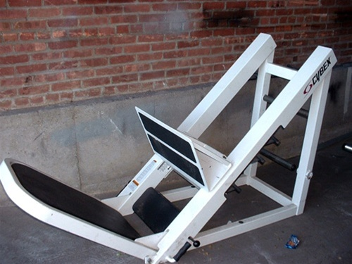 Cybex 45 Degree Leg Press Gymstore Com