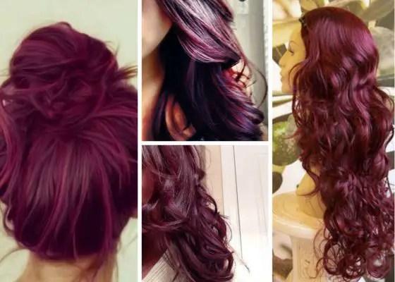 Plum Hair Color Dye, Deep Black Plum Ideas for Brown Hair ...
