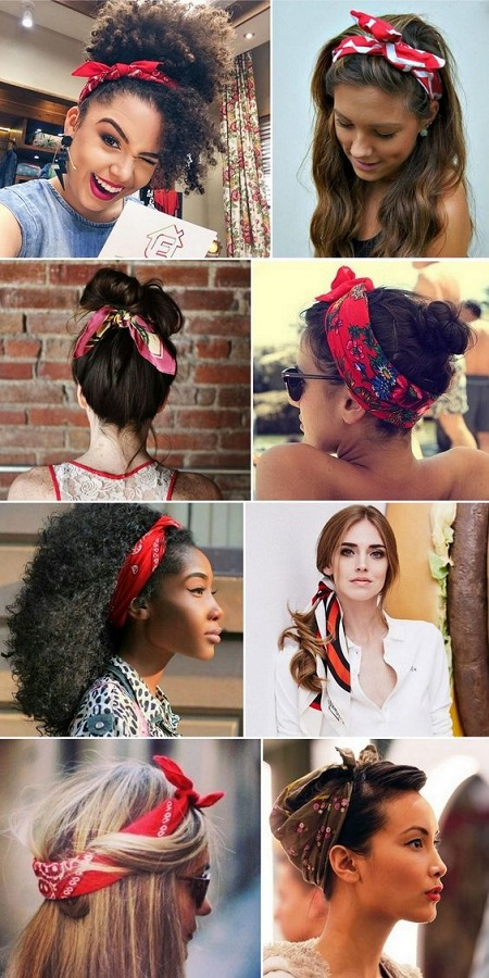 Head Scarves For Short Hair Headband