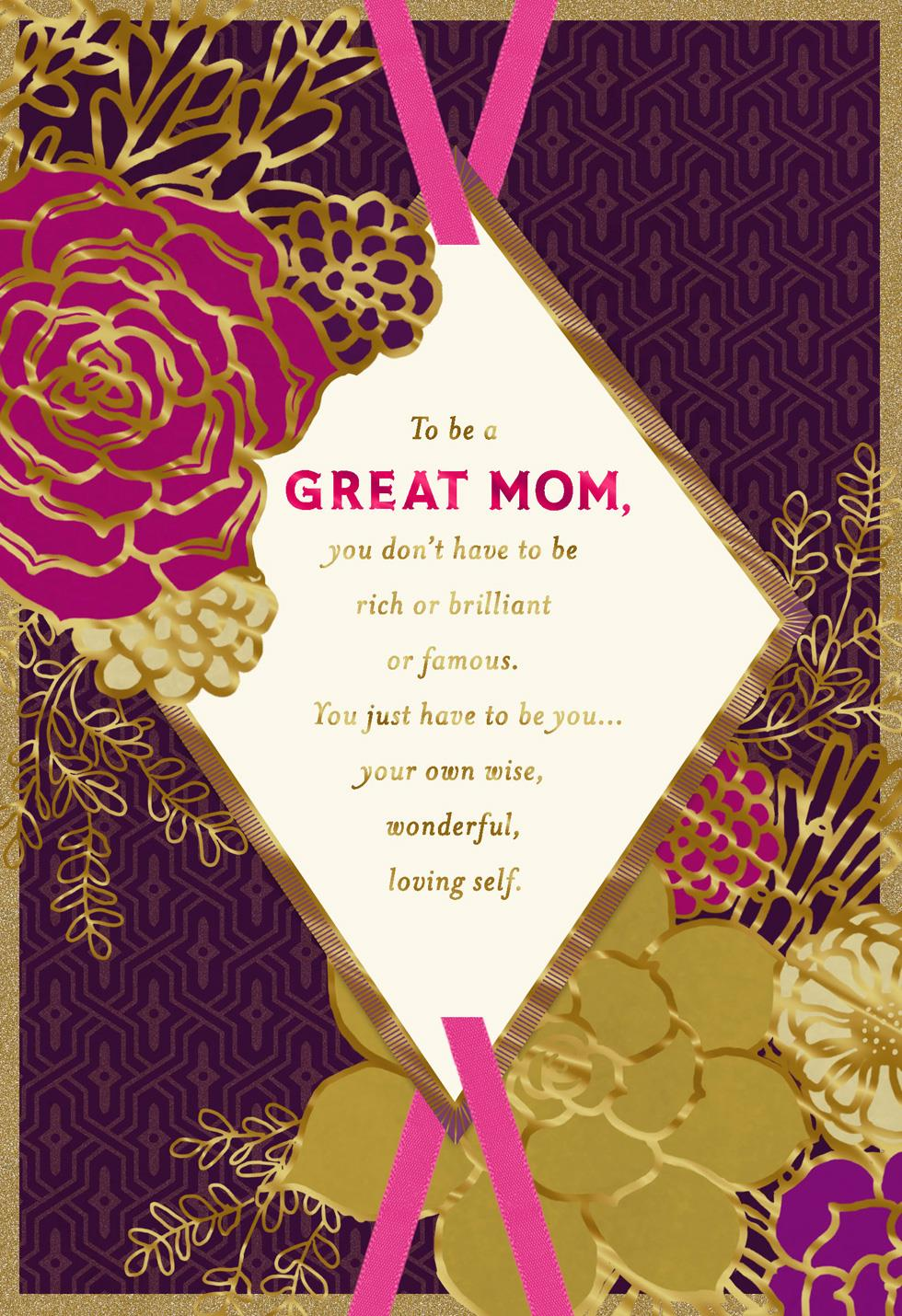 You Re An Amazing Mom Mother S Day Card Greeting Cards