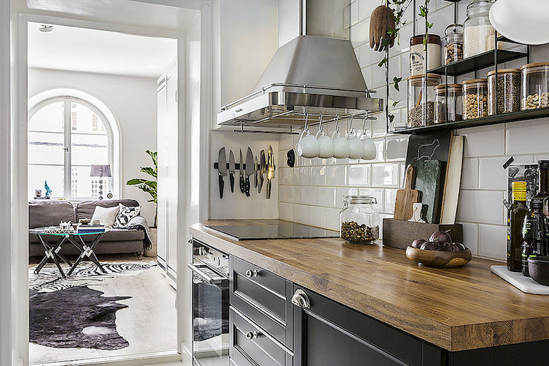 Small Apartment With Bold Details And Decor