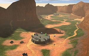 Blood Gulch Halopedia The Halo Encyclopedia