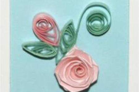 Paper quilling flowers rose new artist 2018 new artist anthurium rose flowers paper quilling rug by wondercraftshop society sunflowers roses paper quilled flowers rug paper quilled roses and typography inspired mightylinksfo