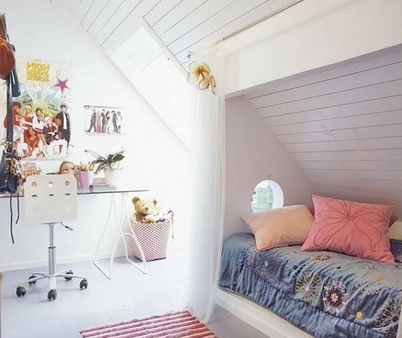 12 Ideas For Attic Kids Rooms Handmade Charlotte