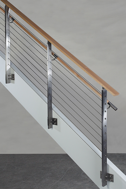 Koto™ Hdi Railing Systems   Stainless Steel Banister Rail   Ags Stainless   Satin Stainless   Metal Fabrication   Railing Designs   Cable Railing Kits