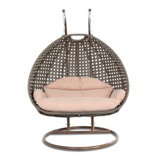 Review  Luxury 2 Person Wicker Swing Chair with Stand 2 person wicker Swing Chair with stand
