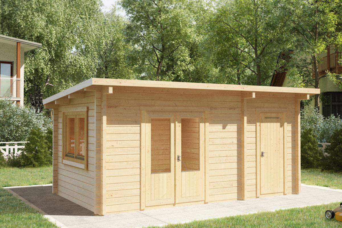 Small Wooden Garden Storage