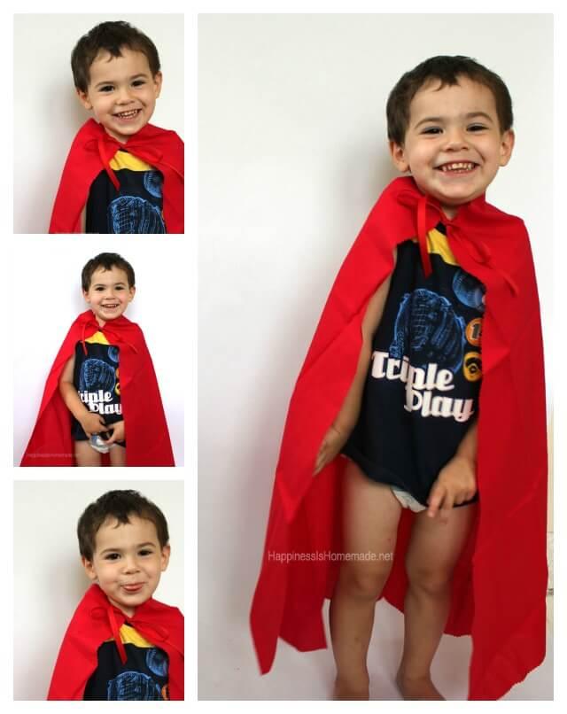 Easy Super Hero Costume Set