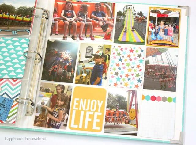 Project Life Honey Layout