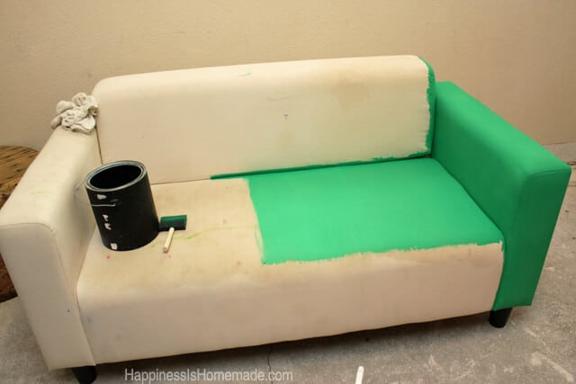 Painting a Couch