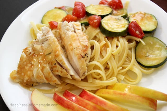 Rosemary Chicken With Vegetables Dinner Recipe from eMeals
