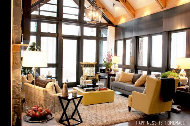 Downstairs Sitting Area at the 2014 HGTV Dream Home