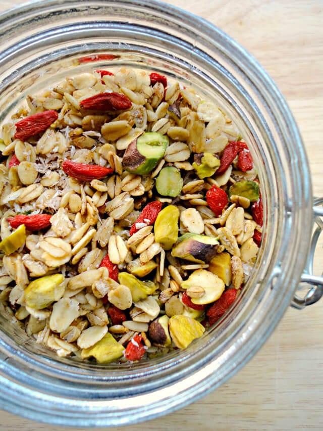 Goji Berry Granola Recipe