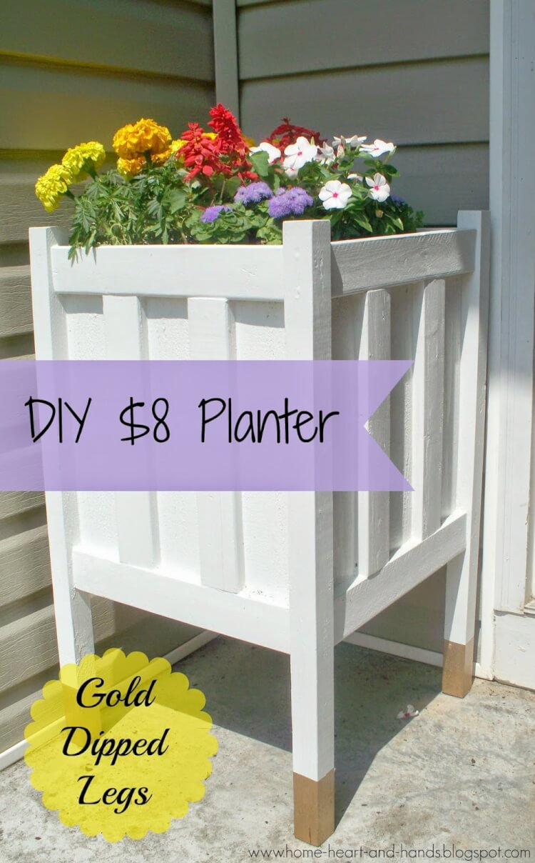 Gold Dipped Planter