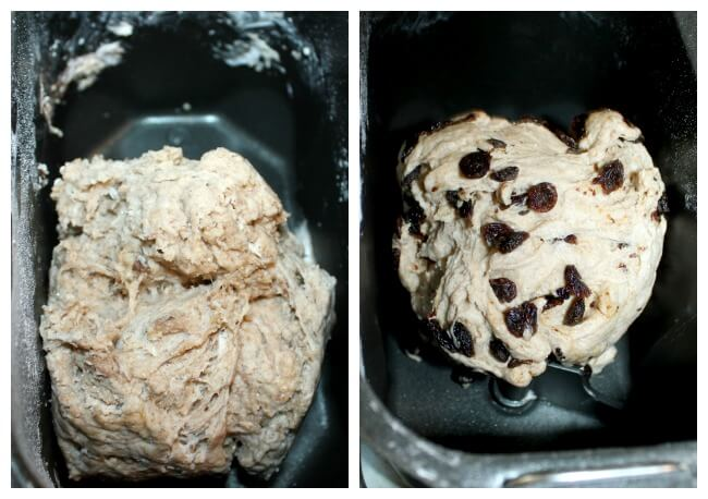 Cinnamon Raisin Bread Dough