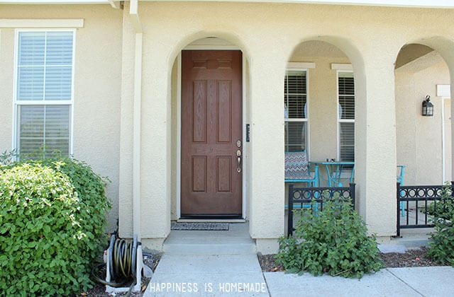 Front Door Before Photo