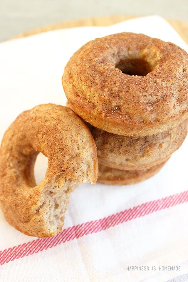 Best Ever Fresh Baked Apple Donut Recipe