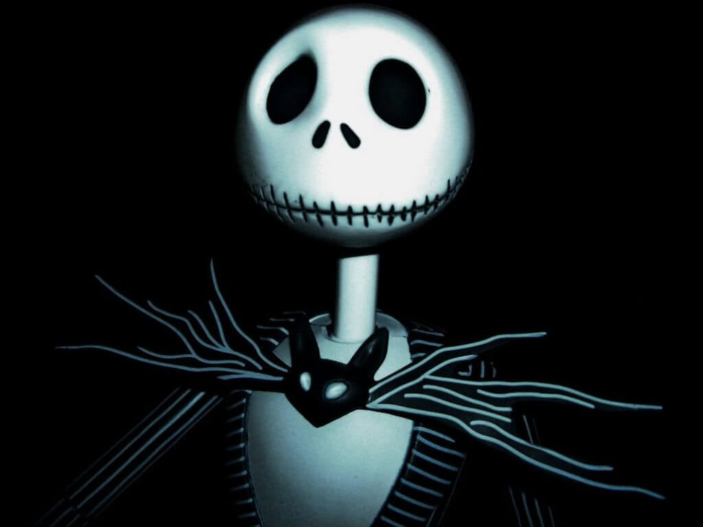 15-Minute Jack Skellington Halloween Makeup - Happiness is ...