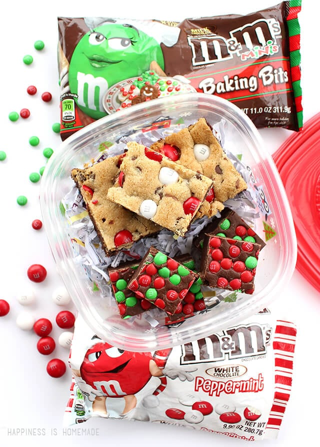 Christmas Baking with M&Ms