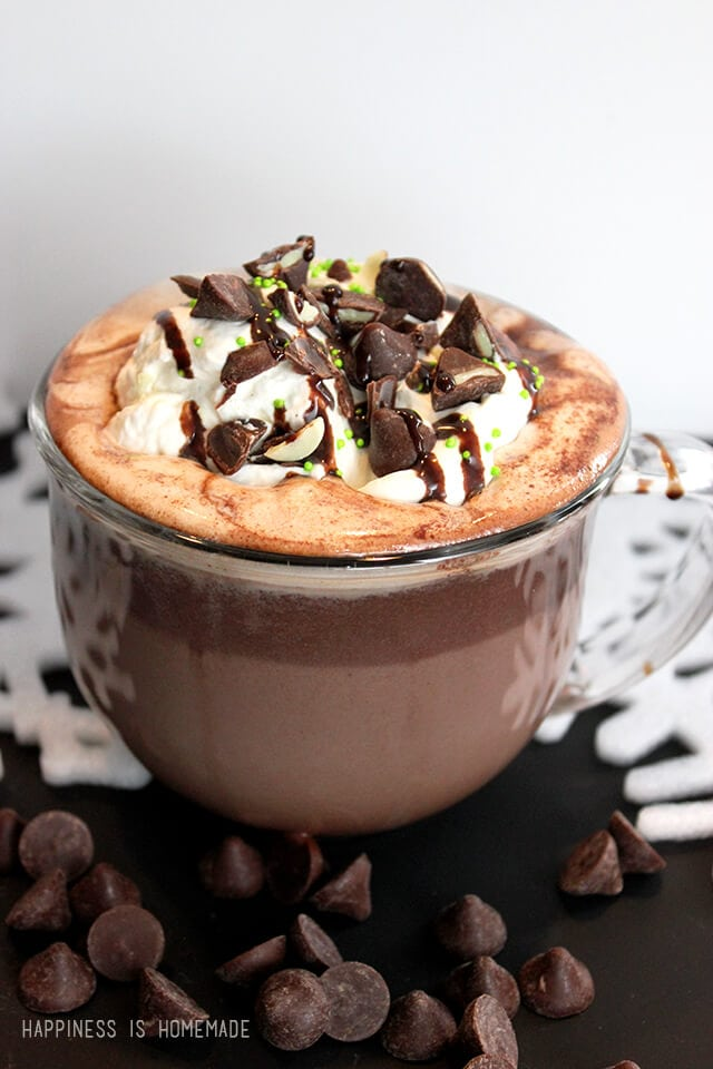 Hot Chocolate With Mint Nestle Toll House DelightFulls