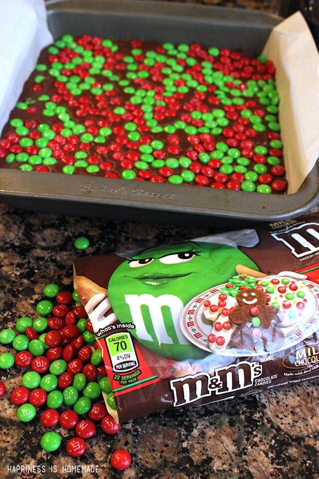 M&Ms Holiday Baking Minis