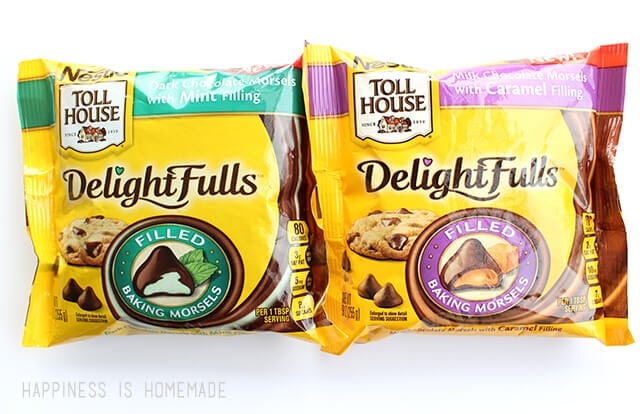 Nestle Toll House DelightFulls Filled Chocolate Morsels