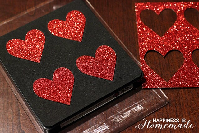 Cutting Heart with the Ellison Sizzix Machine