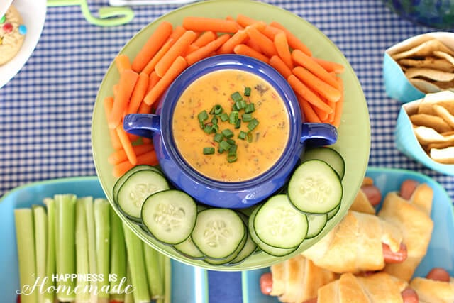 Ultimate 3-Ingredient Queso Dip for Tailgating