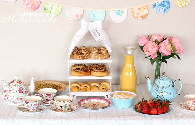 VintageTea Party Breakfast